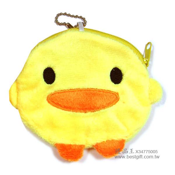 可爱鸭零钱包