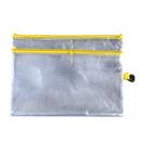 A5雙拉鍊PVC文具袋
